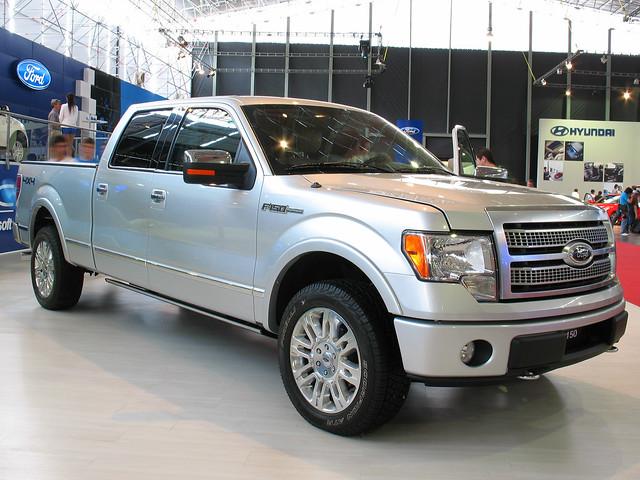 santiago ford pickup f150 pickuptrucks fordpickup camionetas doublecabin crewcab supercrew fordfseries f150platinum salondelautomovil2008 fordf150platinum
