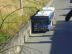 B8009 (Juan_M._Sanchez) Tags: new bus station vancouver flyer 2000 loop 1999 stop 1998 translink fare articulated d60lf cmbc