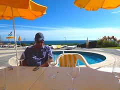 It's Been A Long  Lunch - Algar Seco Poolside (unclebobjim) Tags: portugal faro coast algarve algarseco instantfave
