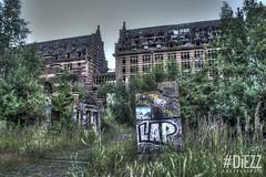 Grands Moulins de Paris 1 (DiEZZ) Tags: paris graffiti graff hdr grands ruines urbex industrielle moulins friche dsaffect