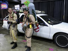 Ghostbusters at Chicago Comic Con 2013 (lesather) Tags: costumes chicago cosplay rosemont il sciencefiction superheroes costuming ghostbusters comicconvention chicagoil wizardworldchicago rosemontil chicagocomicon chicagocomiccon