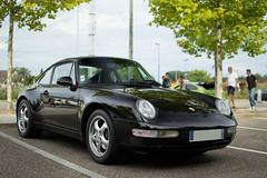 The last Aircooled (Shelcor) Tags: black france car sport race italia stuttgart 911 turbo porsche 930 carrera 991 993 997 964 901