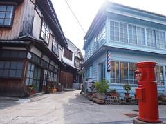 crossroad (nineblue) Tags: street hiroshima crossroad      osakishimojima