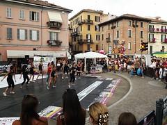 DANCING IN PAVIA (Bruno Vigan) Tags: road street city people italy italia shot dancing danza pavia
