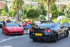 GTO vs GTR (6GTO) Tags: canon square photography eos nissan xx parts ferrari casino montecarlo monaco mc gran gto turismo luxury supercar v6 gtr v12 550d worldcars omologata 599xx 6gto