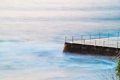 Cornerstone (sebr) Tags: ocean beach water pool bondi sunrise bondibeach icebergs whitespace bondiicebergs oceanpool flickrfriday