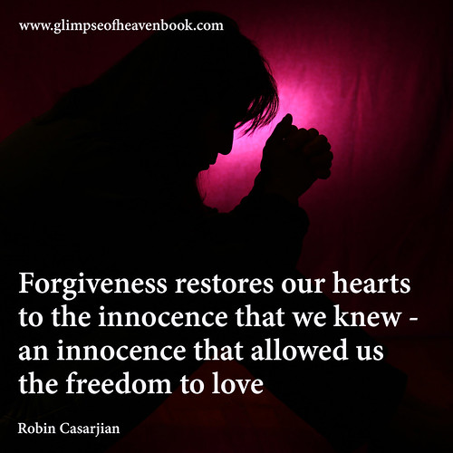 Forgiveness...Allows Us Freedom to Live and Love