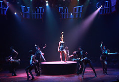 Brenda Braxton (Velma Kelly) and ensemble in Chicago produced by Music Circus at the Wells Fargo Pavilion August 20-29, 2013. Photo by Charr Crail.