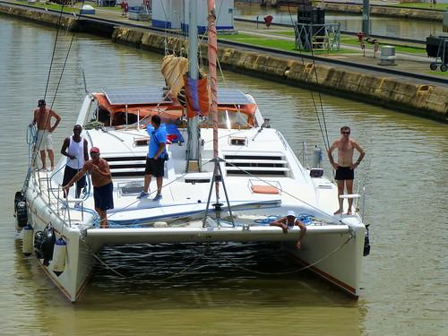 panama panamacity boatride gate1 pacificqueen panalcanal gate1travel wereonaboat partialtransit gate1contest