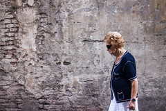 """""""face to face with your adversity"""" (Lednyi) Tags: street brick sunglasses wall siena 500d"""