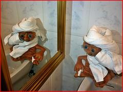 Qué guapa estoy !! (Caty V. mazarias antoranz) Tags: adios bye dormir soñar agua bathroom bath enladucha enlasauna desnuda enpelotas casadaprecisaamante ligona nudista nudismo morenadesnuda jovencitadesnuda damasinropa chicodesnudo hombreenbolas apuesto bello joven menlookingboyfriend hombrebuscanovio gentedesnuda gentenudista nudepeople youngnude jóvendesnudo singlelookingboyfriend solterabuscanovio beautifuleyes toalladebaño bathtowel whitetowels toallasblancas inthebath enlabañera bidé bidet piernasdepiladas pubisdepilado legsshaved pubisshaved mamparadeducha showerscreen bathroompartition mamparadebaño girlinthebathtub chicaenlabañera myhusbandintheshower miesposoenladucha mynakedneighbor mivecinodesnudo lentillas miopía lourdescavero ignaciogonzález esperanzaaguirre mujerflorero