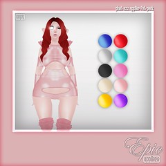 *Epic Phat Azz Appliers* {Latex Defiance Dress Fat Pack} Ad (Jade Winthorpe [www.jadewinthorpe.com]) Tags: show anime cute boobies boobs cosplay sl tango fantasy harajuku mirage lush epic phat lolas implants the azz