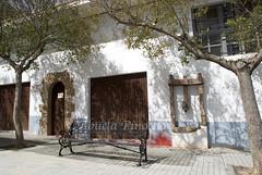MUSEO ETNOLOGICO Y ARQUEOLOGICO-BEJIS (CASTELLON-SPAIN) (ABUELA PINOCHO ) Tags: espaa spain puerta arboles pueblo banco paisaje museo fachada castellon bejis paisvalenciano