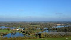 La Dombes (Christian Mens) Tags: eau paysage étang etang ladombes dombes vueaérienne étangsdeladombes