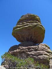 The Big Balanced Rock from Behind (Anne's Travels) Tags: arizona rocks hike trail rockformations chiricahuanationalmonument bigbalancedrock