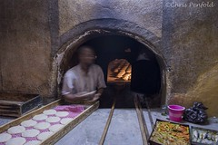 Bread Oven (chrispenfold) Tags: africa bread baking baker oven handmade crafts traditional morocco marrakech souk marrakesh local tradition bakers