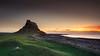 Lindisfarne Castle, Holy Island (Alistair Bennett) Tags: seascape castle sunrise coast rocks northumberland holyisland lindisfarne canonef1740mmƒ4lusm gnd075he gnd045se