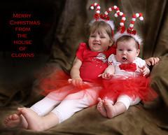 IMG_6124 (Betty AN) Tags: christmas funny babies merrychristmas clowningaround
