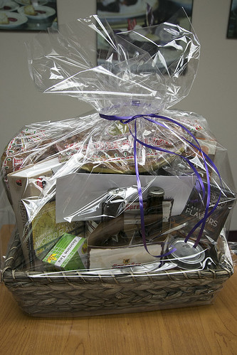 Culinary Arts holiday gift basket