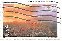 USA stamp - National Parks series - Grand Canyon (sftrajan) Tags: usa nationalpark unitedstates stamps stamp nationalparks timbre postagestamp airmail philately sello grandcanyonnationalpark briefmarke  francobollo 60cents