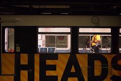86 (OldAreEx78) Tags: street color station digital la los metro angeles head framed no olympus commute heads 7th omd literal