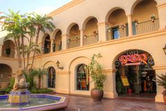 The Prado at Balboa Park (Robert F. Carter Travels) Tags: palms tile restaurants palmtrees pottedplants prado fountains balboapark courtyards