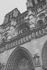 notre dame III (gdiazfor) Tags: travel sky bw paris france building church architecture europe personal notre dame 2013 gdiazfor gdiazforphoto gonzalodíazfornaro gonzalodiazfornaro