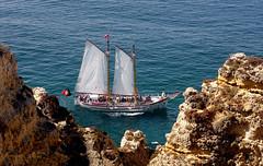 Un viaje a Portugal... XXXIX. Para salmoteb@rogers.com (Brian Wayfarer) Tags: portugal lagos algarve pontadapiedade