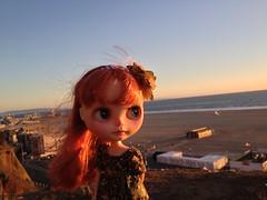 At the Santa Monica Beach