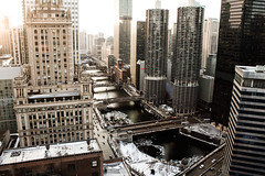 *** (Justin Wolfe) Tags: road above street city bridge winter light shadow urban sun snow chicago cinema building cars window skyline architecture modern contrast canon river dark movie lights hotel midwest downtown cityscape rooftops centercity snowy widescreen citylife streetphotography bridges chitown lookout aerial sidewalk observatory classical chicagoriver dslr cinematic birdseyeview arial johnhancockcenter hirise urbex t2i willistower vision:outdoor=0947 vision:car=059