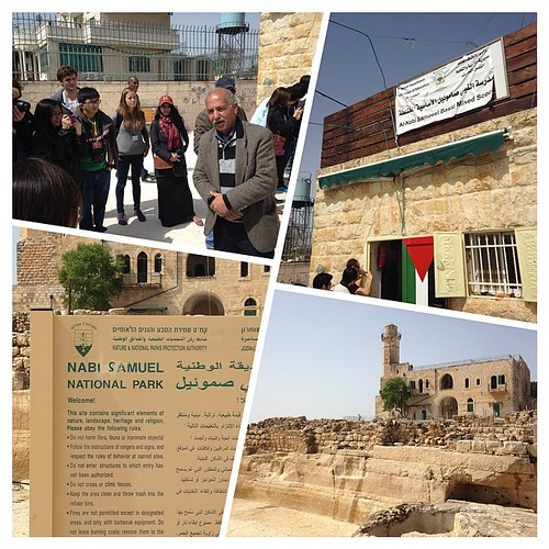 A visit to a small Palestinian school in Nabi Samuel, East Jerusalem. Despite receiving a couple of demolition orders in the past few years, they remain strong! #hkspalestine