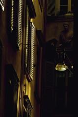 Vicolo a Bergamo (nickbit) Tags: city italy lights nikon italia colours milano details north bergamo d5100