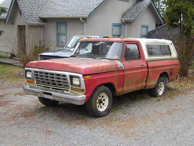 ford truck pickup f100 custom 1979 mapleridge