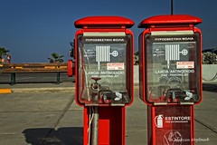 Red Factor I (Collect Time Not Things) Tags: port europa europe kreta greece crete griechenland fireextinguisher rethymnon grecja ganica retimno