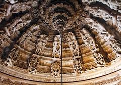 Temple's dome (VoyagerX) Tags: india temple religion cupola dome hindu hinduism tempio religione induismo