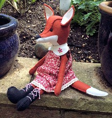 "Mabel the Fox by Sally • <a style=""font-size:0.8em;"" href=""https://www.flickr.com/photos/29905958@N04/14085766709/"" target=""_blank"">View on Flickr</a>"