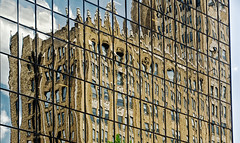 Reflected Office Building (PAJ880) Tags: reflection buildings office downtown nj newark