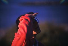 Drachenfest (08) (Rdiger Stehn) Tags: portrait analog 35mm deutschland europa sommer slide dia menschen scan veranstaltung schnberg 1990s schleswigholstein norddeutschland schnbergerstrand mitteleuropa drachenfest probstei contax137md analogfilm kleinbild drachenfestival canoscan8800f kbfilm 1990er kreispln diapositivfilm