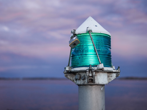 Green Navigation Light by Duncan Rawlinson - @thelastminute - Duncan.co, on Flickr