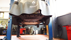 Renault ZOE 2. Inspektion