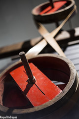 MUMI (Asturias) (Dinacast) Tags: rojo asturias mina rueda mumi círculo máquina engranaje museominero
