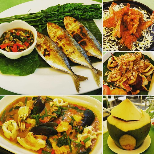 1st meal in Hua Hin w/o alcohol #eat #seafood #withfren #trip #travel #HuaHin