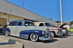 Temple City Classic Car Show (USautos98) Tags: 1948 chevrolet fleetmaster aerosedan bomb chevy