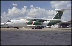 RA-76817 - Moscow Domodedovo (DME) 13.08.2001 (Jakob_DK) Tags: 2001 dme uudd domodedovo moscowdomodedovo domodedovointernationalairport ilyushin ilyushin76 ilyushin76td il76 il76td candid cargo suh sukhoi sukhoicivilaircraft