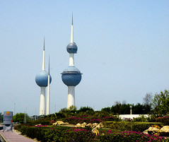 Kuwait Towers (Proto1138) Tags: kuwait towers spires middle east