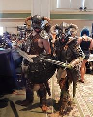 Dovakhiin (dubugga) Tags: skyrim elderscrolls tes cosplay argonian nord nerdcon 2015