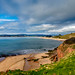 Exmouth (Peter Leigh50) Tags: devon exmouth sea cliff sand shore sky clouds