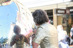 Adelaide Reflection (Plymography) Tags: plymography jasonnolan adelaide photographer adl south australia city cbd 5000 barry morgan world of organs keyboard organ out this fringe festival 2017 show entertainer kitsch safari suit big hair rundle street shopping mall malls balls iconic