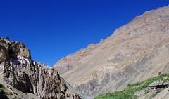 Landscape and Monastery (Tomas Pfeifer) Tags: phuktal landscape monastery india zanskar ladakh himalayas himalaya