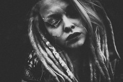 M. (Maria Schaefer Photography) Tags: malegeers dreads dreadlocks bw grainy doubleexposure kirschlorbeer mariaschaeferphotography canon lightroom sigma35mmart